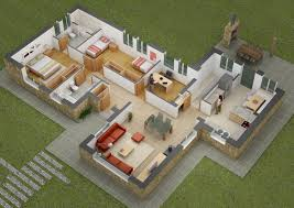 simple four bedroom house plans 25 more 3 bedroom 3d floor plans bedrooms and building 4 modern