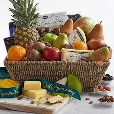 sympathy fruit baskets fruit baskets snack baskets delivered from 39 99
