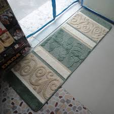 tapis de cuisine lavable en machine 45 120 cm lavable en machine cuisine tapis couloir tapis de sol