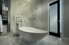 Modern Bathroom Door Many Uses Of Glass