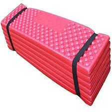 fjtang camping pe foam mat exercise yoga mat extra thick sleeping
