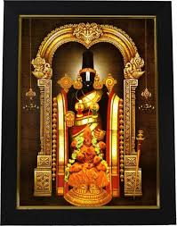 lord venkateswara photo frames with lights and music 101temples tirupati balaji god photo religious frame price in india