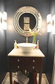 small half bathroom tile ideas with white ceramic toilet and white