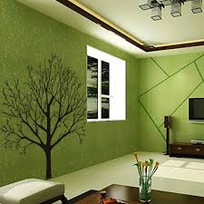 stylish tree branch pattern background wall sticker for bedroom