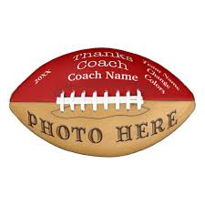 engraved football gifts photo and personalized football gifts for coaches zazzle