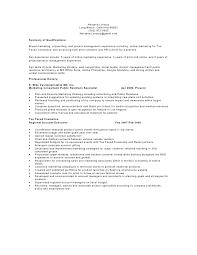 Sample Resume For Sephora by Nl Resume