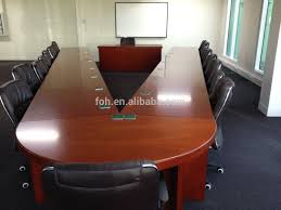 Detachable Conference Table Wood Veneer Detachable V Shaped Meeting Table Conference Furniture