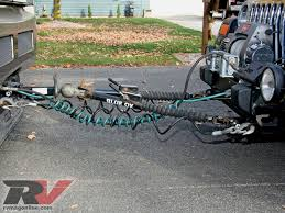 rv towbars setting up your vehicle for flat towing rv magazine