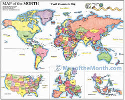 Map Of The World Blank by World Countries Labeled Map Maps For The Classroom