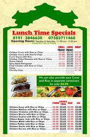golden rice tandoori lunch time deals