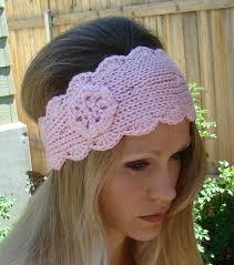 knitted headband pattern free knit headband pattern