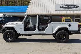 jeep brute 4 door aev brute double cab rubitrux conversion