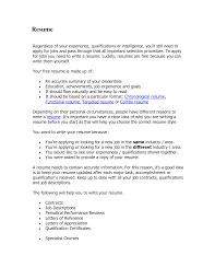 functional resume vs chronological resume resume format guide resume for study