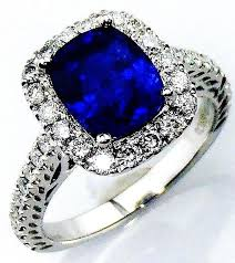 blue sapphires rings images Royal blue sapphire ring gia certified platinum 4 01 jpg