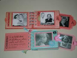 small scrapbook album toilet paper mini album