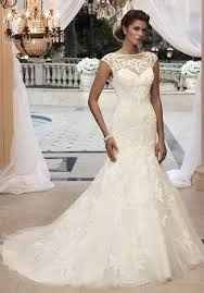 lace wedding dresses uk unique bateau fit n flare lace waist sleeve wedding