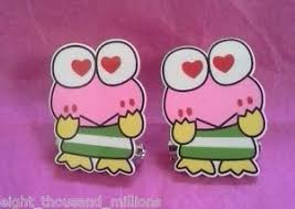 Frog Desk Accessories 2 Pcs Pink Frog Kero Keroppi Iron Office Paper Clip Desk