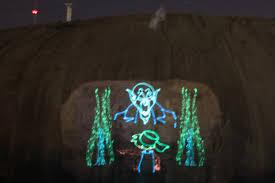 stone mountain laser light show stone mountain and the kkk ameripics