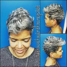 funky hairstyle for silver hair 648 best silver foxx images on pinterest grey hair pixie cuts