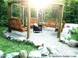 arbor swing plans free freestanding arbor swing plans arbor swing plans finished fire pit