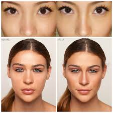 contouring seemingly flat areas can make them appear more three dimesnsional and warm up the face makeup artist secrets how to look airbrushed without