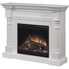 dimplex winston 52 inch electric fireplace mantel standard logs