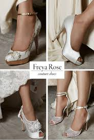 Wedding Shoes Luxury Couture Wedding Shoes And Accessories From Freya Rose Junebug