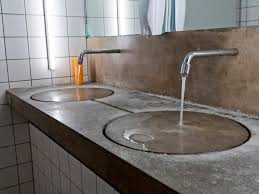 Cement Bathroom Vanity Top Bathroom Design Fabulous Concrete Countertop Finishes Polished