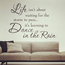 inspirational quotes dance in the rain removable wall decals vinyl inspirational quotes dance in the rain removable wall decals vinyl stickers home decor in wall stickers from home garden on aliexpress com alibaba group