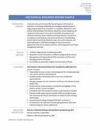 Resume Examples Online Mechanical Engineer Resume Sample Resume123
