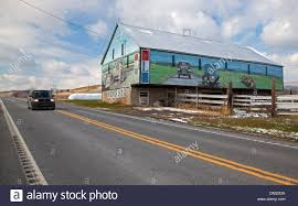 Barn Murals Murals On A Barn Along The Lincoln Highway Now U S 30 In Stock