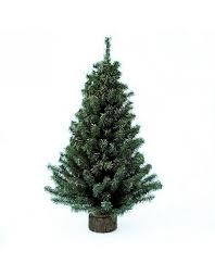 kurt adler tree 12 inch mini pine tree on wooden