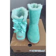 ugg bailey bow navy blue sale ugg bailey bow ugg mint aqua blue from shelly s