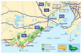 Southern Ocean Map Great Ocean Road Attractions Best Islands And Beaches