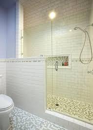 decorations white glass subway tile bathroom subway tile bathroom shower home design furniture