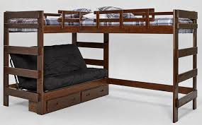 hutchinson mocha sleeps 3 or 4 futon bunk loft bed