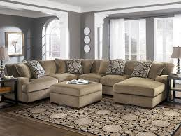U Sectional Sofas by Cozy U Shaped Sectional Sofa With Chaise All About House Design