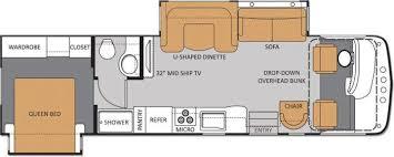 Rv Floor Plans Class A 2014 Thor Motor Coach Hurricane 32a Class A Gas Tulsa Ok Rv For