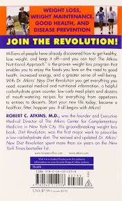 dr atkins u0027 new diet revolution robert c atkins 9780060012038