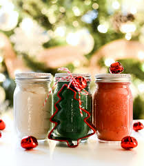 stocking stuffer ideas mini mason jar christmas clay dough