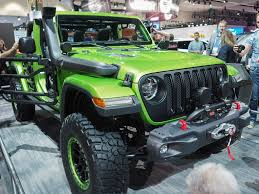 rubicon jeep modified mopar modified wranglers shown off at the l a auto show gallery