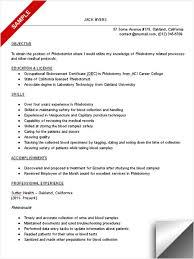 fancy phlebotomy resume sample 1 phlebotomist resume sample