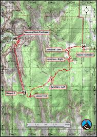 Bryce Canyon Map Pdf Canyoneering Hidden Canyon From The Top Zion East Side Road