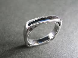 Square Wedding Rings by Men U0027s Diamond Square Ring Hn Jewelry