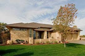 Plan W20092GA Frank Lloyd Wright Inspiration  eARCHITECTURAL Design
