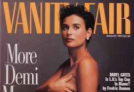 Vanity Fair Magazine Price 1991 Vanity Fair Cover Featuring Pregnant Demi Moore Named 1 Of