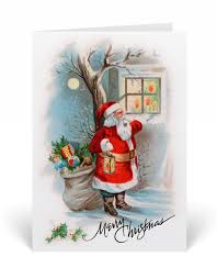 old fashioned christmas cards harrison greetings business