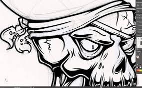 illustrator tutorial vectorize image adobe illustrator tutorial how to draw a vector pirate skull youtube