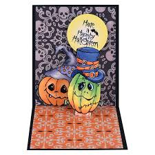 halloween hats cling stamps and dies set