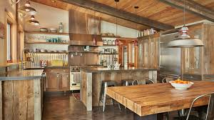 rustic kitchen furniture the cooking experience by the evergreen rustic